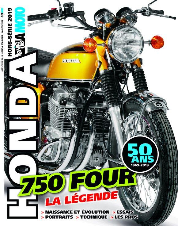 Hors-série La Vie de la Moto, zoom sur la Honda 750 Four