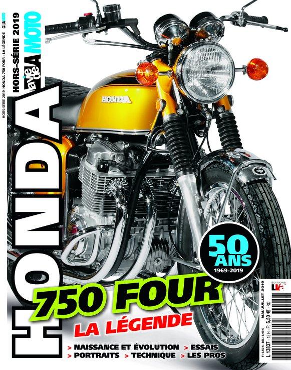 50 ans de la Honda 750 Four, notre exposition principale